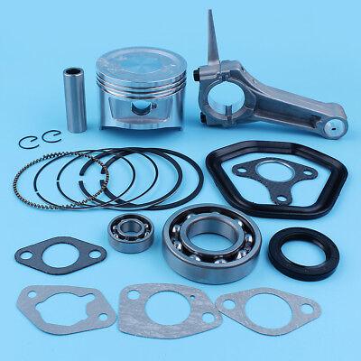 Haishine 88mm Piston Rings Connecting Rod Carburetor Intake Gasket Kit For Honda GX390 188F 13HP Engine Motor Mower Water Pump Trimmer