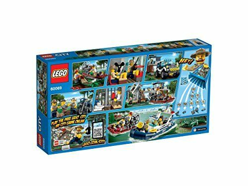 LEGO City Police Station on the Swamp 60069 New JP