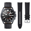 Samsung-Galaxy-Watch-3-45mm-Smartwatch-Mystic-Black-SM-R840NZKCXAR-Extra-Band thumbnail 1