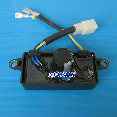 Rectangle 2.5 KW To 3 KW Automatic Voltage Regulator 3KVA Petrol Generator AVR