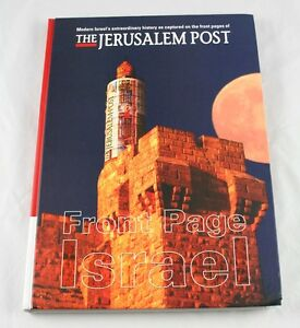 Front-Page-Israel-The-Jerusalem-Post-With-CDS-2009-Hardcover-i6o16