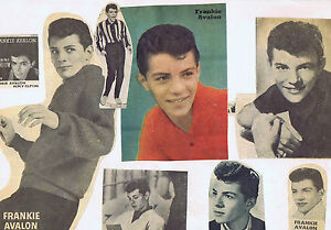 8-FRANKIE-AVALON-CLIPPINGS-STUCK-ON-PAGE