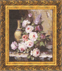 Counted Cross Stitch Kit GOLDEN FLEECE TRYST