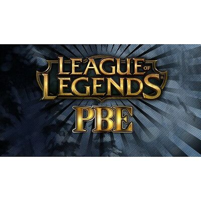 League of Legends - PBE Account Trusted ✔ - Quality ✔ - Save ✔ - Cheap ✔