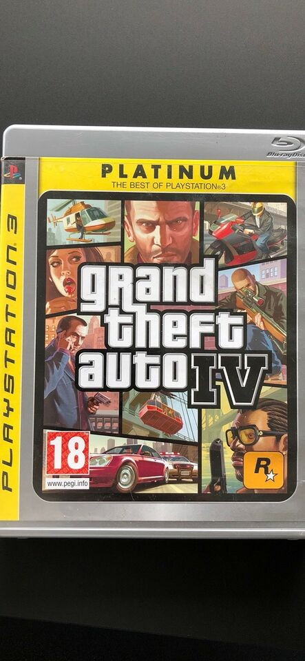 GTA IV Liberty City, PS3, simulation