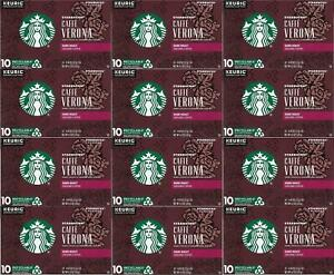 Starbucks Caffe Verona Dark Roast K Cup Coffee 300 Count Best Before May 2020 762111936271 Ebay