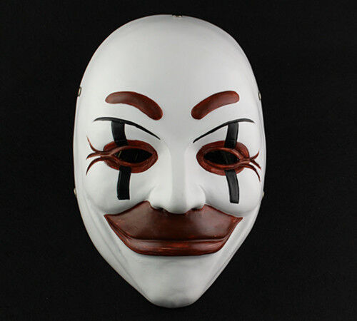 movie prop face mask Who Am I - No System Is Safe masquerade halloween Role play