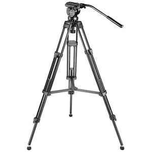 Neewer-61-034-Tripod-with-360-Degree-Fluid-Drag-Head-1-4-034-3-8-034-Quick-Release-Plate