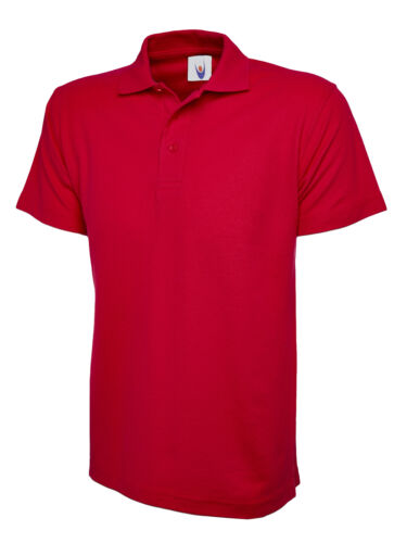 Personalised EMBROIDED Polo Shirt Top Workwear Uniform Custom Left Chest Text