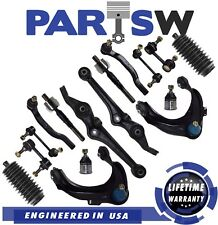 Outer and Inner Tie Rod Ends 6 Cyl//Rack /& Pinion Bellow Boots PartsW 6 Pc New Steering Kit for Honda Accord 98-02