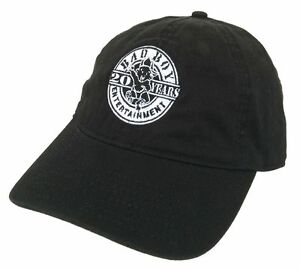 Bad Boy Ent. Records 20 Years Black Baseball Hat New Official Puff ... 1efb6efc38c