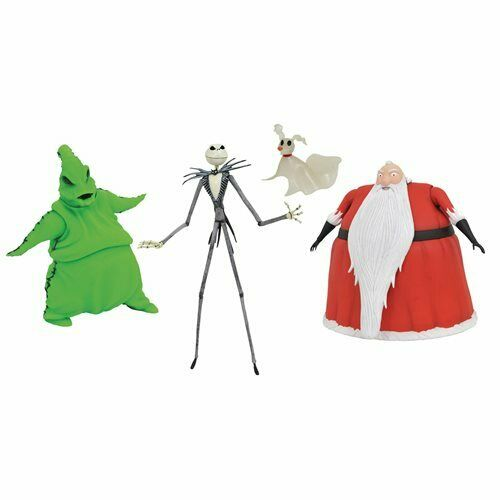 Brand New Nightmare Before Christmas SDCC2020 Lighted Action Figure Box Set