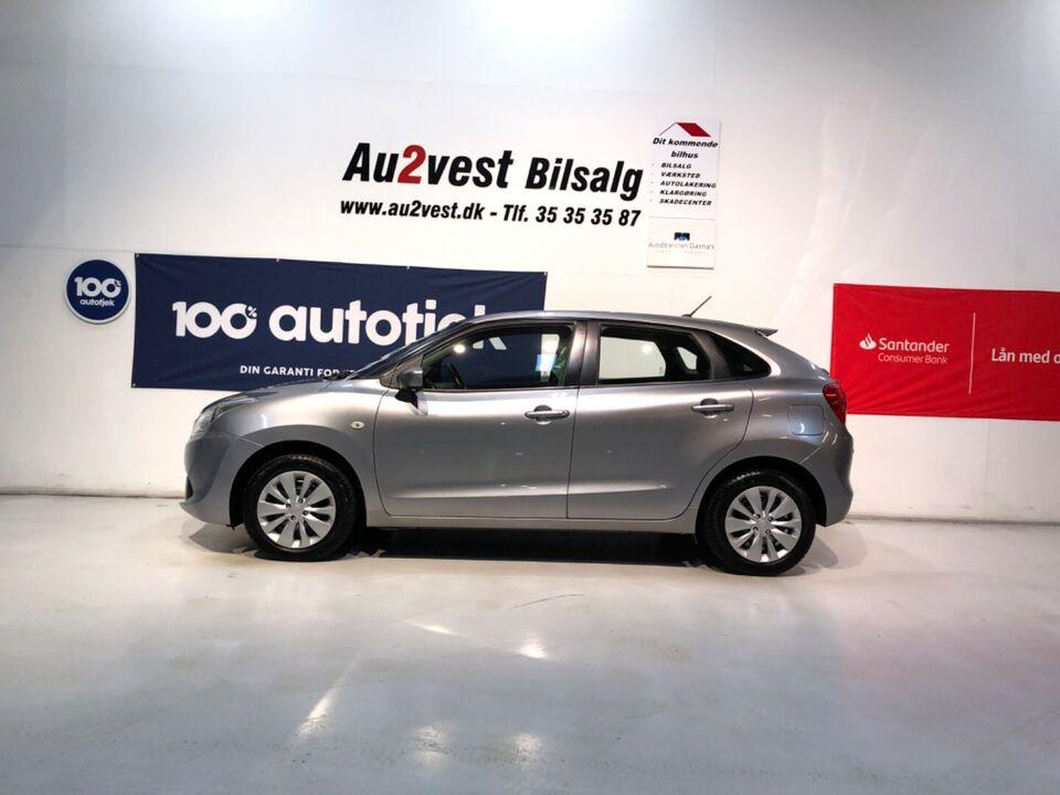 Suzuki Baleno 1,2 Dualjet Active Benzin modelår 2016 km