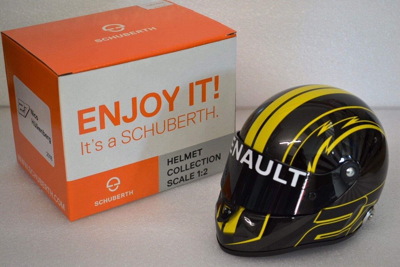 ofreciendo 100% Schuberth 1 2 Helmet Nico Hulkenberg Renault Renault Renault F1 2018 brand new boxed  el más barato