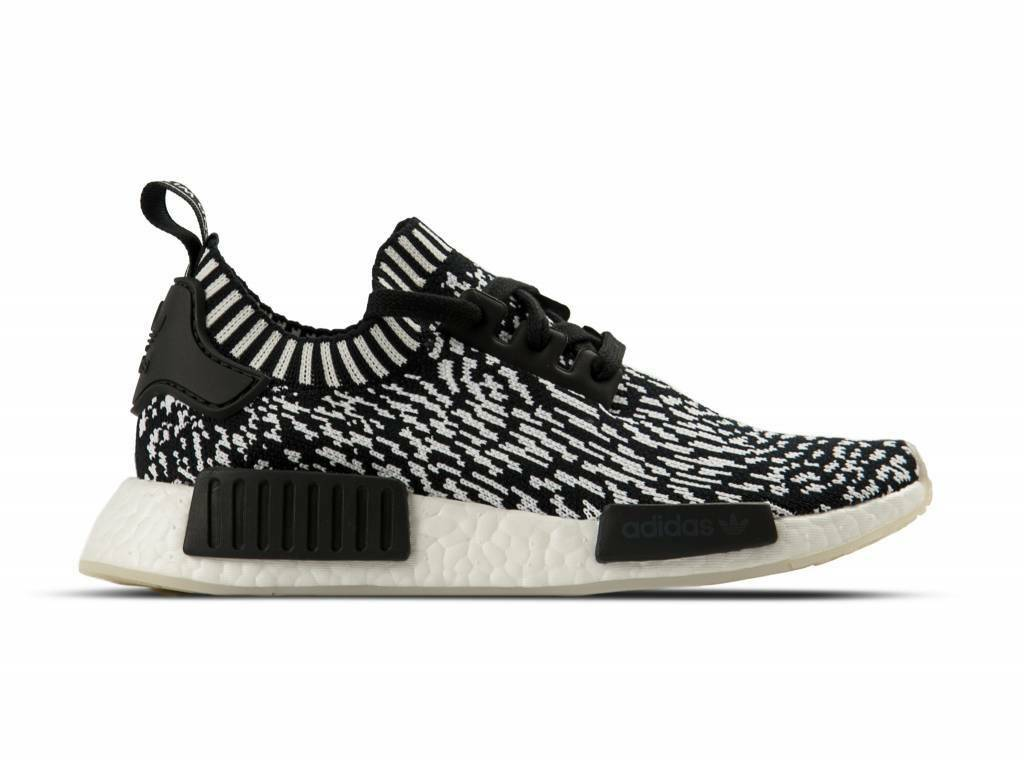 adidas Originals NMD_R1 PRIMEKNIT 100% AUTHENTIC Yezzy DS USA Zebra Pack BY3013