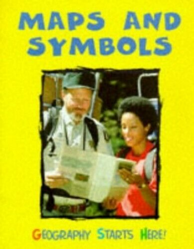 Maps and A Symbols (Geography Starts Here) by Royston, Angela Hardback Book The