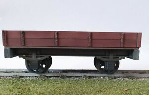 Garden-railway-2-plank-Wagon-Built-painted-ready-to-run-16mm-scale-SM32