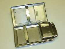 "MOSDA ""STREAMLINE"" LIGHTER CIGARETTE CASE - PATENT 27165/49 - 1955 - ENGLAND"