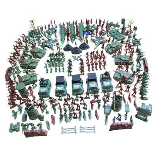 307 519-teilig Army Armee Kampf Soldaten Figuren für Kinder Spielzeugset