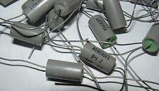 20 x vintage 0.1uf 160v axial capacitors Ashcroft B2A 100nf