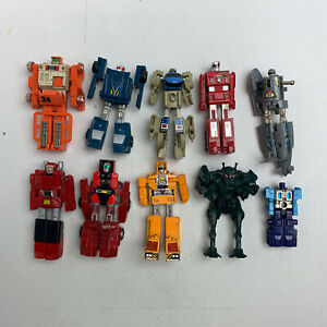 GoBots Toy Lot from the 1980's - Transforming Robots Vintage