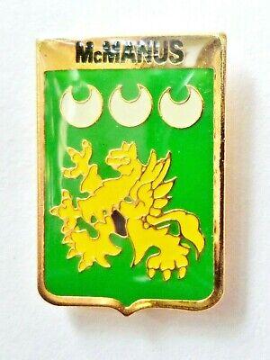 Murphy Irish Family Surname Pin Badge