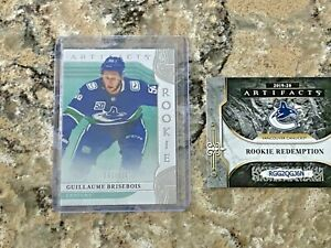 2019-20 UD Artifacts #RED208 Guillaume Brisebois RC #63/999 Rookie Redemption