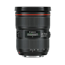 Canon EF 5175B002 24-70mm f/2.8 L II USM Lens - Black
