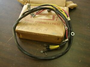 details about nos oem ford 1956 truck pickup wiring harness generator to voltage regulator v8 1956 ford f100 trucks restomod wiring