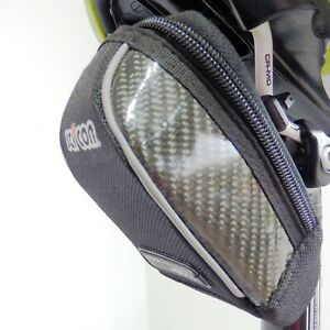 SCICON-COMPACT-430-Carbon-Black-Saddle-Bag-for-Road-Cyclists