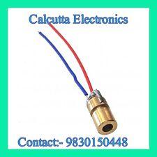 3pcs RED Laser 650nm 6mm 3V 5mW Dot Diode Module Copper Head