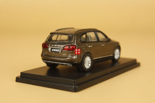 1//64 China Great Wall Haval H8 SUV couleur brun DIECAST MODEL
