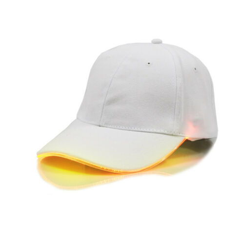 LED Basecap Baseball Cap Licht Kappe Lampe Mütze Hut Outdoor Angeln Schirmmütze