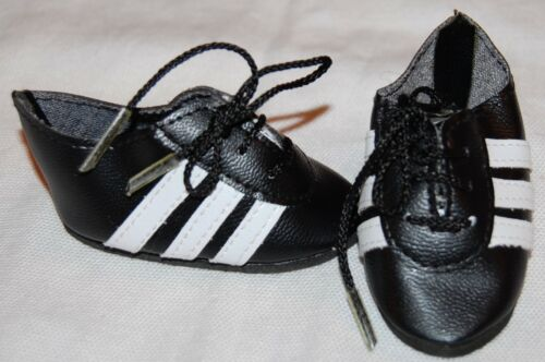"""DOLL Shoes 69mm Red Striped Track for SD* BJDs 18/"""" Magic Attic"""