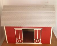 Doll House Barn - 2 Storey - Great For Garage/shop/business - -1:12th