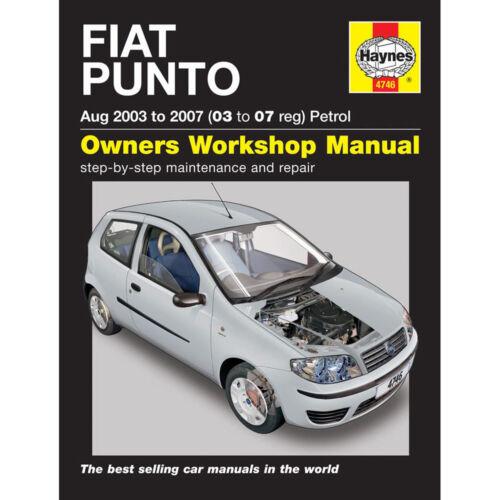 fiat hay4746 ebay rh ebay co uk Fiat Bravo 2015 Fiat Punto