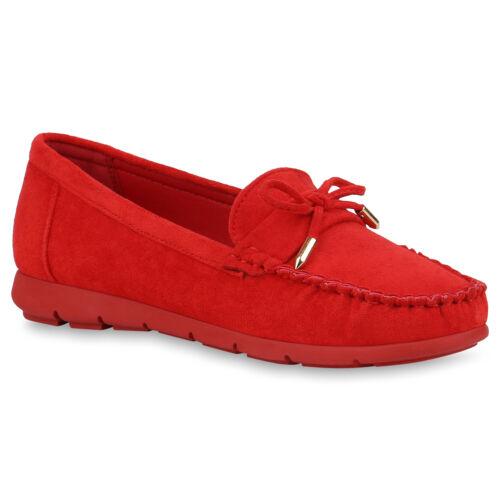 Damen Slipper Mokassins Slip On Freizeitschuhe Bequeme Flats 834054 Schuhe