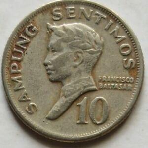 Philippines 1970 10 Sentimos coin