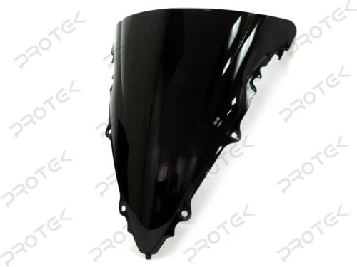 ABS Smoke Double Bubble Windscreen Windshield for 03-05 Yamaha YZF R6 06-09 R6s