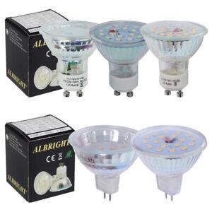 LED Birne Leuchtmittel Strahler Spot Highpower SMD 6000K Kaltweiss 10 × GU10