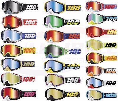 100/% Racecraft Goggles  Alchemy w// Silver Lens  MOTOCROSS MX ATV UTV