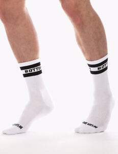 Barcode Berlin Moitié Chaussettes Bottom 91615/204 Gay Sexy Soldes Envoi Éclair