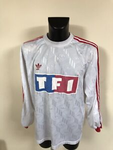 Maillot-Foot-Ancien-Coupe-De-France-TF1-Numero-7-Taille-Xl