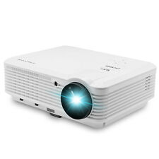 LED Home Cinema Projector 4500lm Portable Multi-media 1080p Full HD HDMI USB
