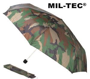 Mens-Army-Military-Combat-Folding-Waterproof-Compact-Mini-Umbrella-DPM-Camo