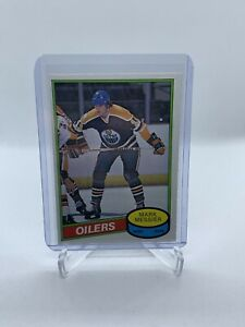 1980-81-O-Pee-Chee-289-MARK-MESSIER-Rookie-Card-Oilers-OPC-Very-Nice-Card