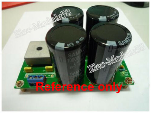Class A Amplifier Rectifier Filter Power Supply Board PSU Bare PCB