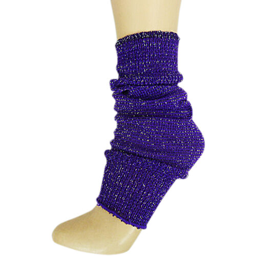 LUREX CHILDS GIRLS DANCE PARTY BALLET LEG WARMERS SOCKS AGE 4//14 FANCY SPARKLY