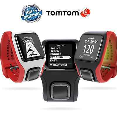 TomTom Runner Cardio GPS Watch with Built-in HRM (Multiple Colours Available)