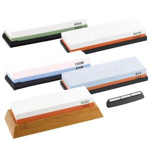 schleifer 4er set doppel wasser schleifsteine mit haltern k rnung 240 8000 ebay. Black Bedroom Furniture Sets. Home Design Ideas